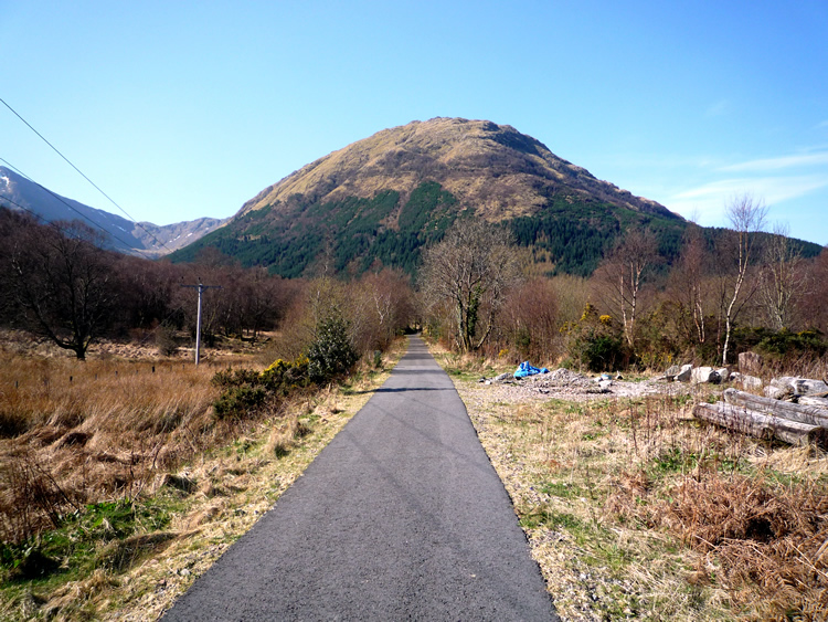 The view from south of Ballachulish Ferry