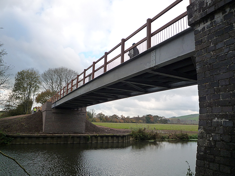 The new Hodmoor Bridge