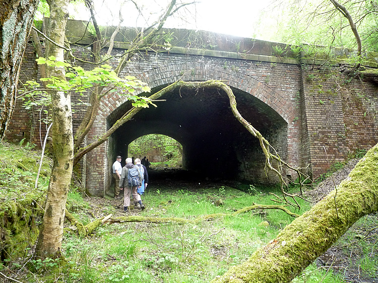 Inverted Arch No. 43a on the GNR's Queensbury Lines