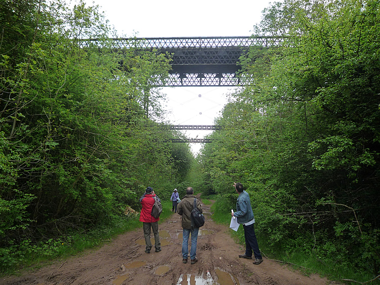 Girder bridge at Marton Junction