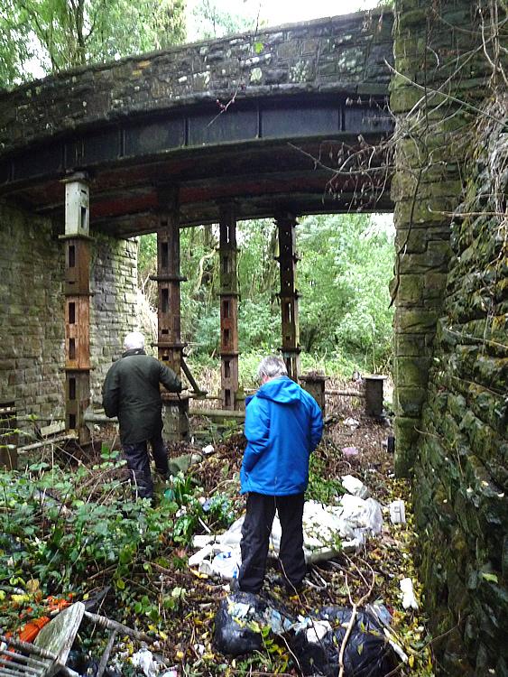 Bishton Lane overbridge